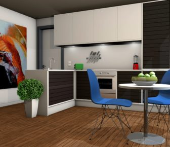 The Impact of 3D visualization in Interior Designing Sector